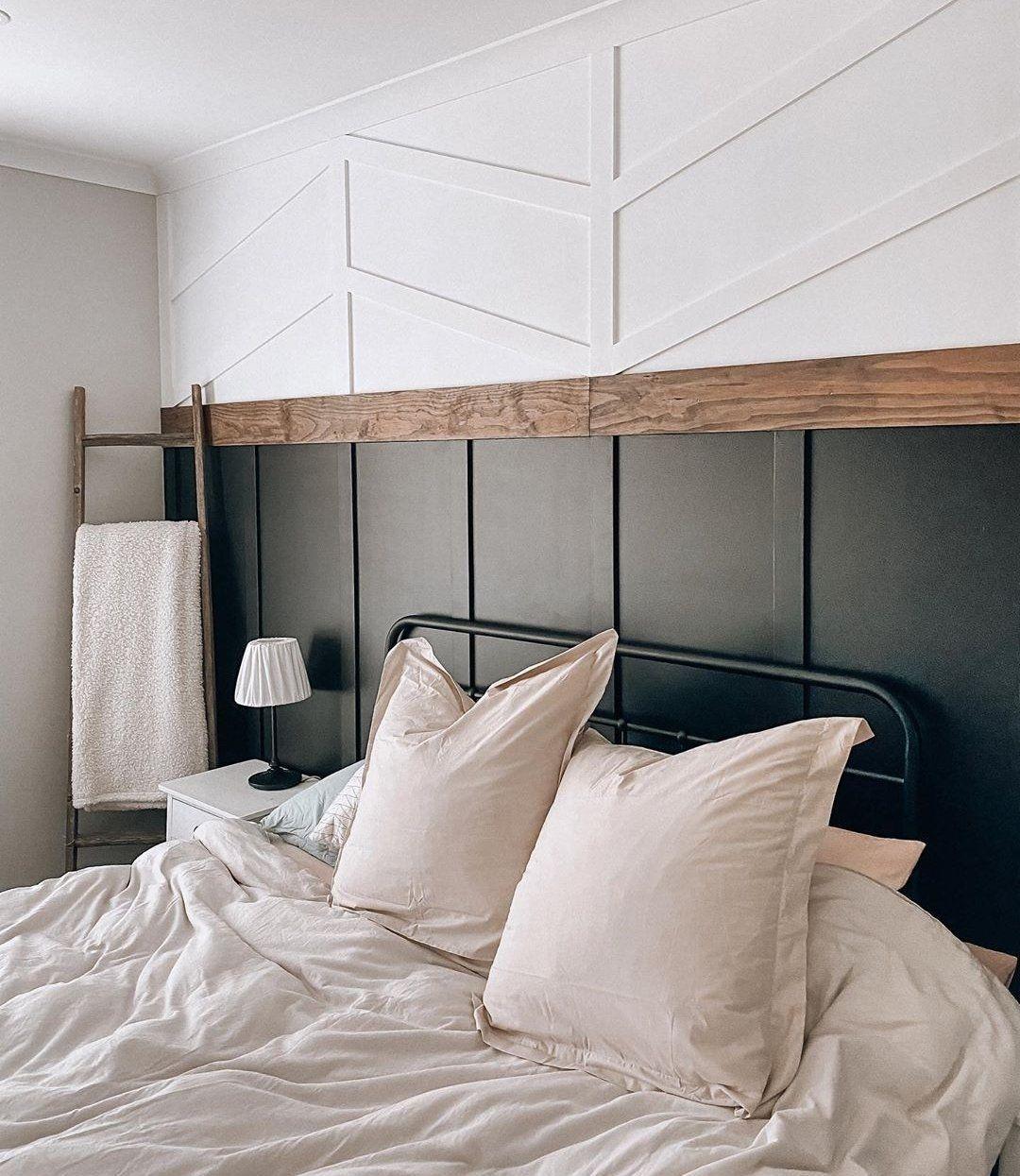 Gorgeous Board Batten Feature Wall Inspiration Ideas Inspo Feature Wall Bedroom Bedroom Wall Pink Living Room Walls