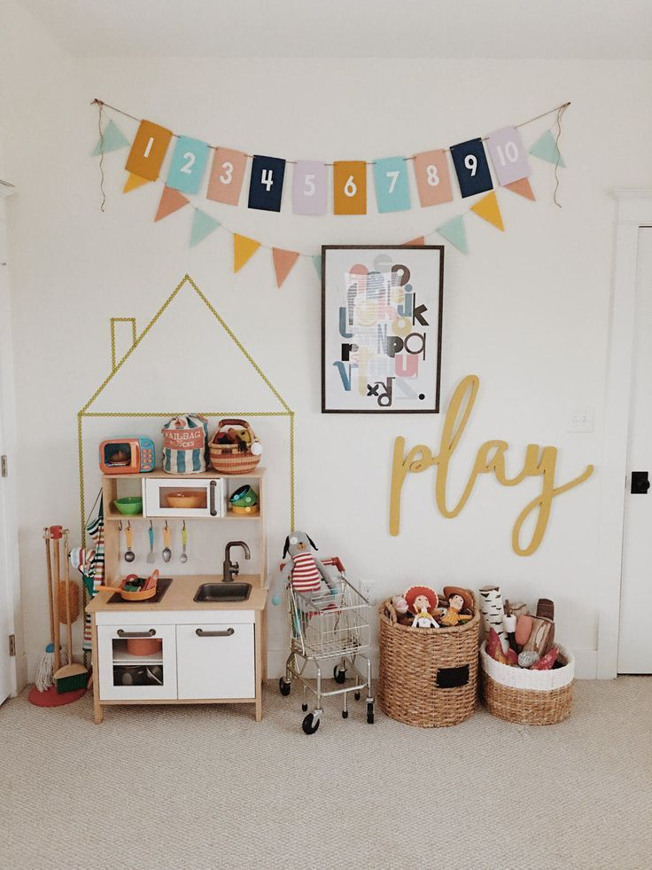 Adorable play space #salledejeuxenfant