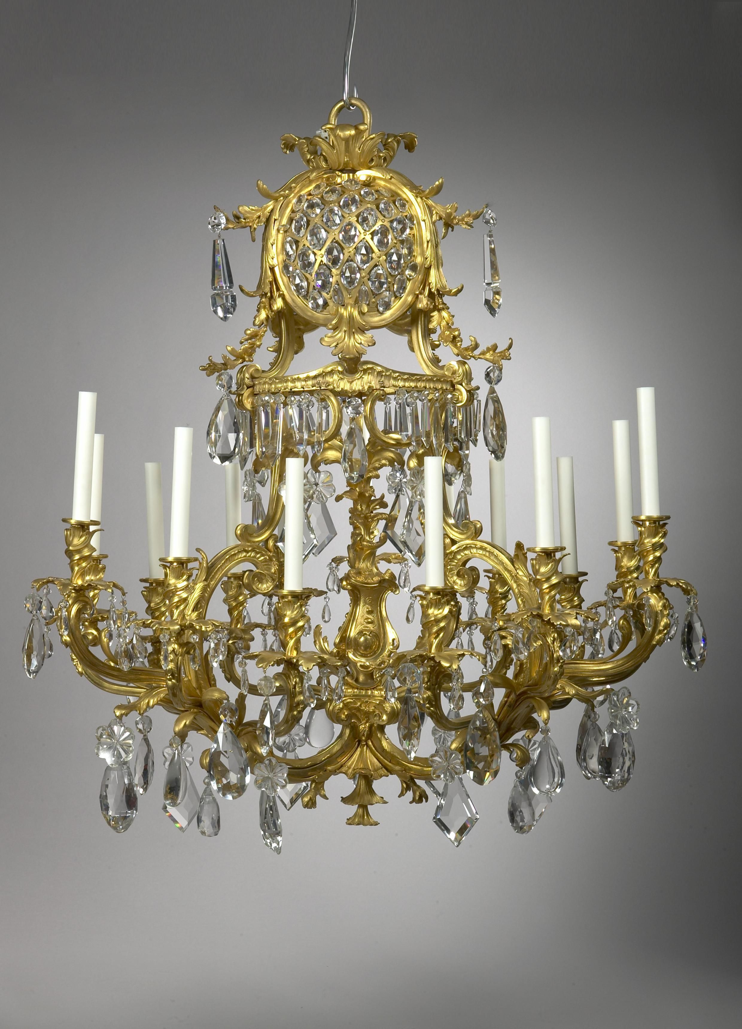 Baccarat crystal Rocaille chandelier
