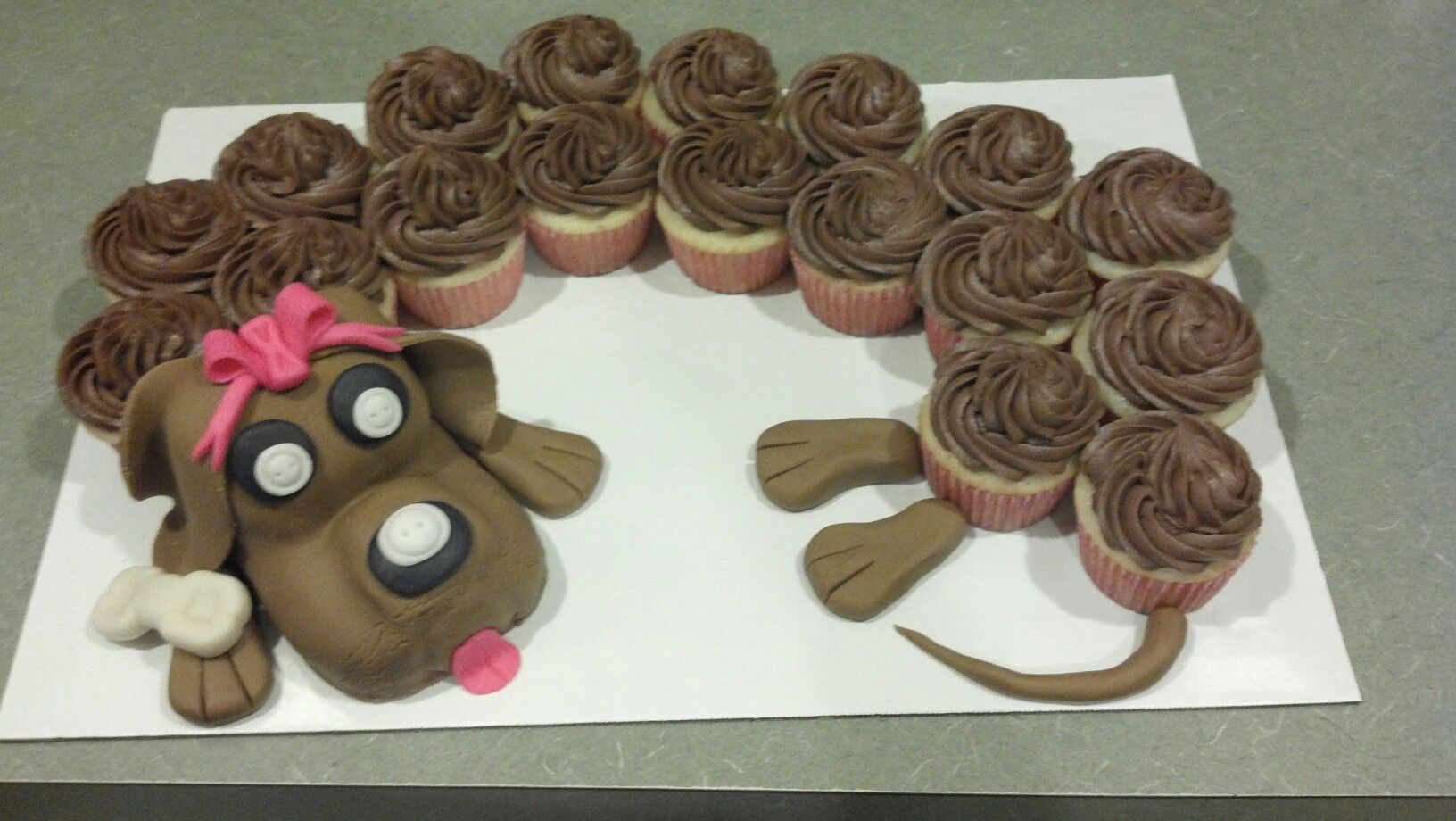 Dachshund Wiener Dog Cupcake Cake Dog Cakes Cupcake Cakes
