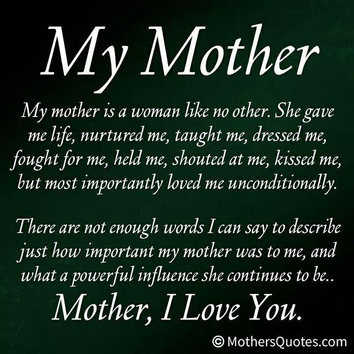 Miss My Mom Cherish Your Mom Someday Shes Gone Words Of Wisdom