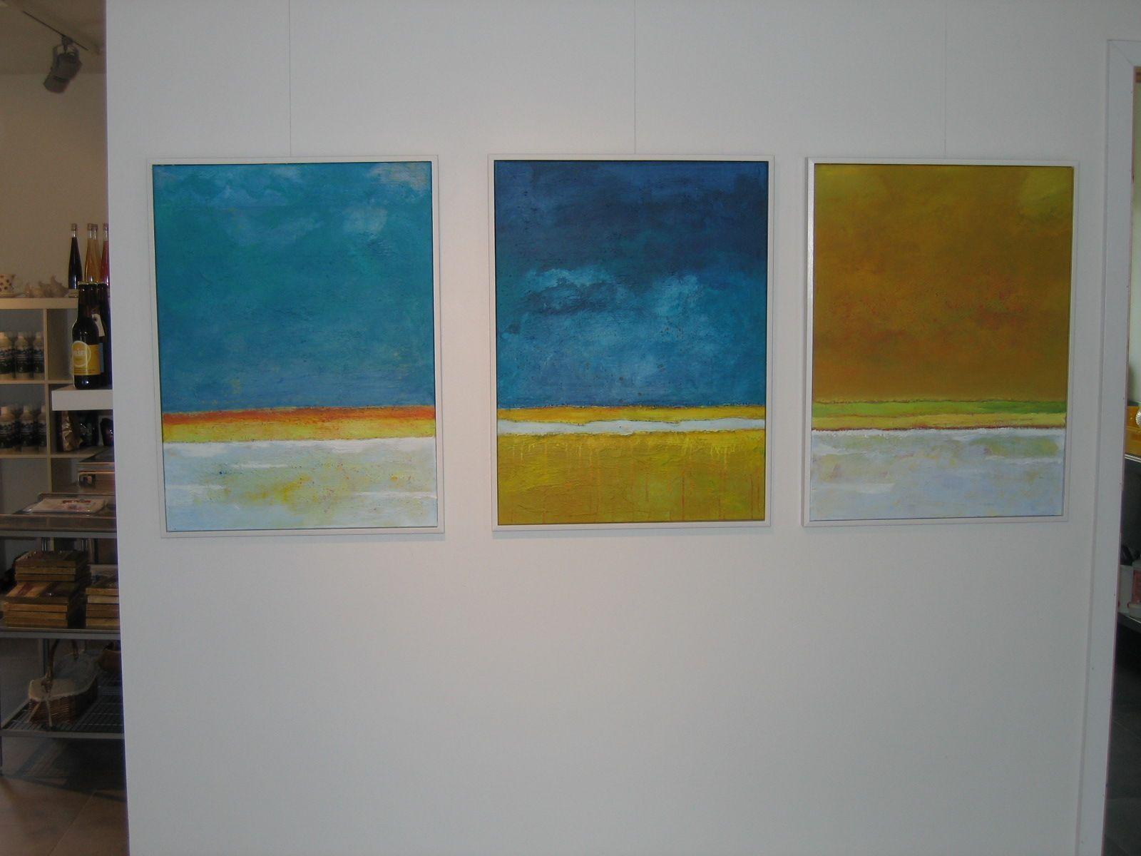 Malerier Britta Hellesøe