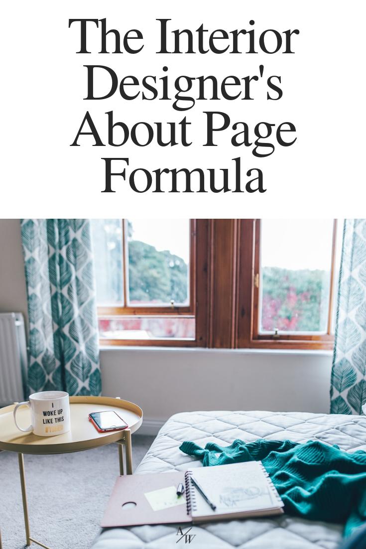The Interior Designer S About Page Formula Interior Design