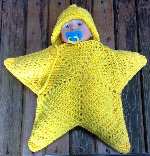 Star Cocoon - Sleep sack - Baby Slumber Sack - Baby Starfish ...