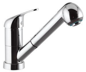 ARGO BORDEAUX Miscelatore lavello doccia