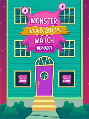 Monster Mansion - Letter Match