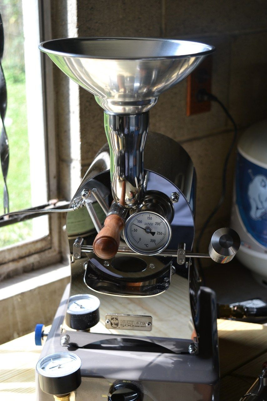 Gear Review Huky 500 Coffee Roaster Coffee Roasting Machine