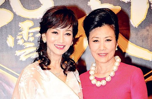 Though Liza Wang and Angie Chiu did not stay in contact over the years, the two veteran actress deny not getting along.