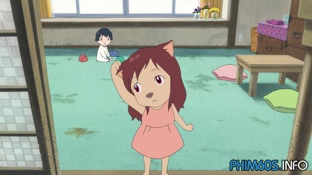 Phim Những Đứa Con Của Sói Ame Và Yuki full HD - The Wolf Children .