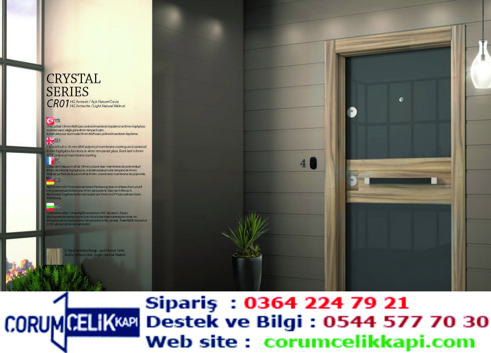 Çorum steel door Steel door models Door prices …