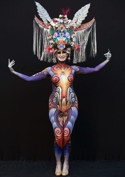 The Daegu International Body Painting Festival 2012 In South Korea Body Painting Festival Body Painting Body Art Painting