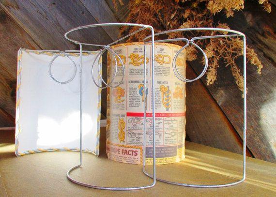 Large Half Shield Lamp Shade Frames Wall By Botanicallampshades