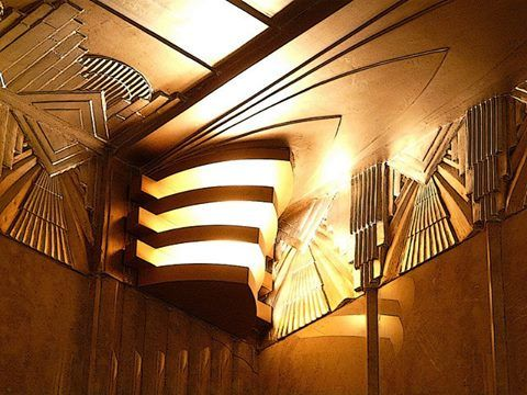 art deco sconce in the chanin building nyc decor architecture