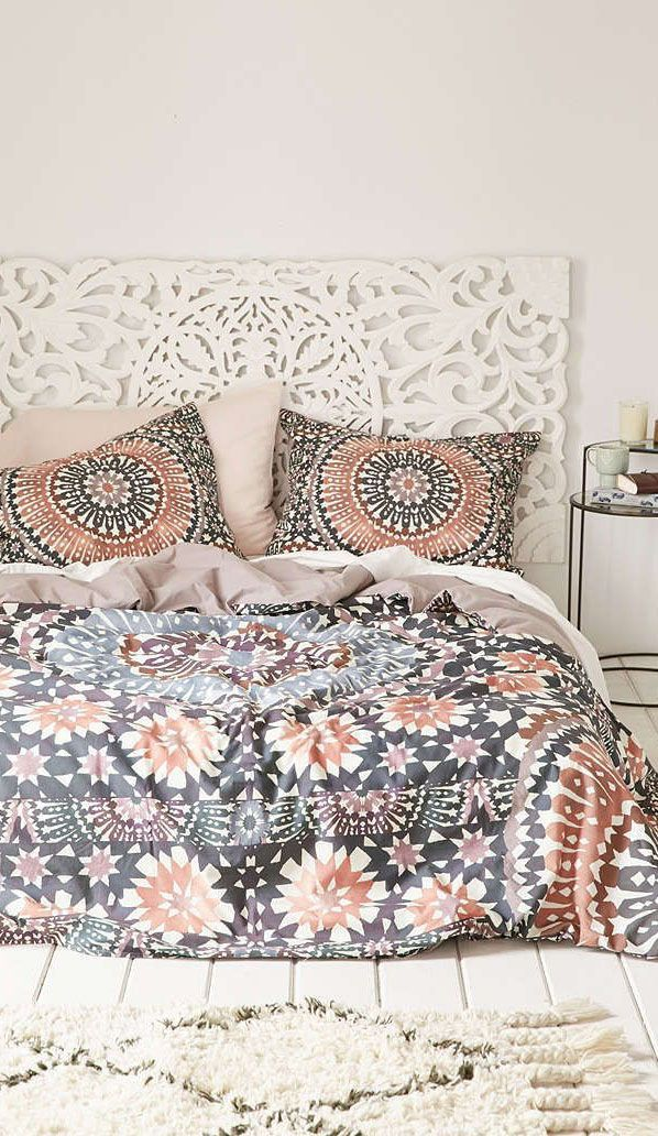 Over The Bed Wall Decor Master Bedroom Boho