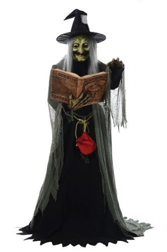 Spell-Speaking Witch Animated 17995 View the full Halloween content