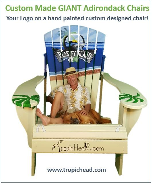 Giant Adirondack Chair - Custom Painted with YOUR design or logo. People love sitting in these over-sized chairs and its a great way to promote yu2026  sc 1 st  Pinterest & Giant Adirondack Chair - Custom Painted with YOUR design or logo ...