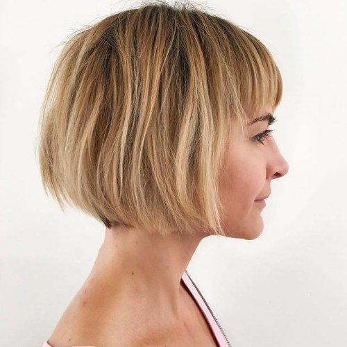 20 coiffures qui vous feront paraître 10 ans plus jeune   – short hairstyles for thick hair