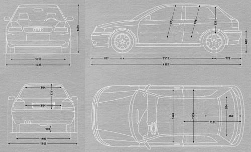 Audi A3 8L Hatchback • Dane techniczne • AutoCentrum.pl ...