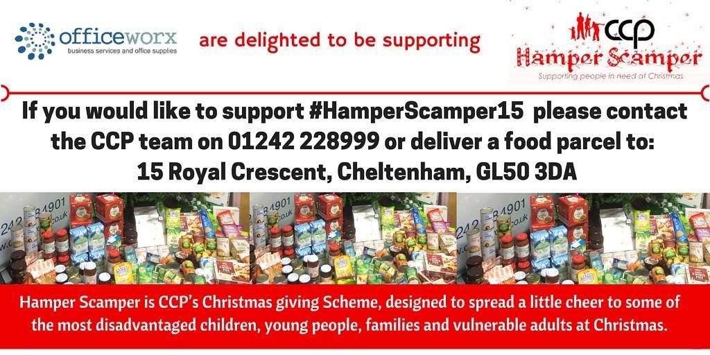 #HamperScamper15