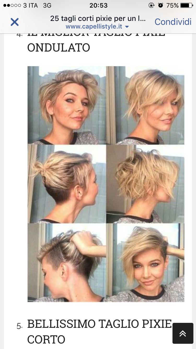 Spara ut kort hår