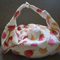 Furoshiki Purse #2: The Ring Bag