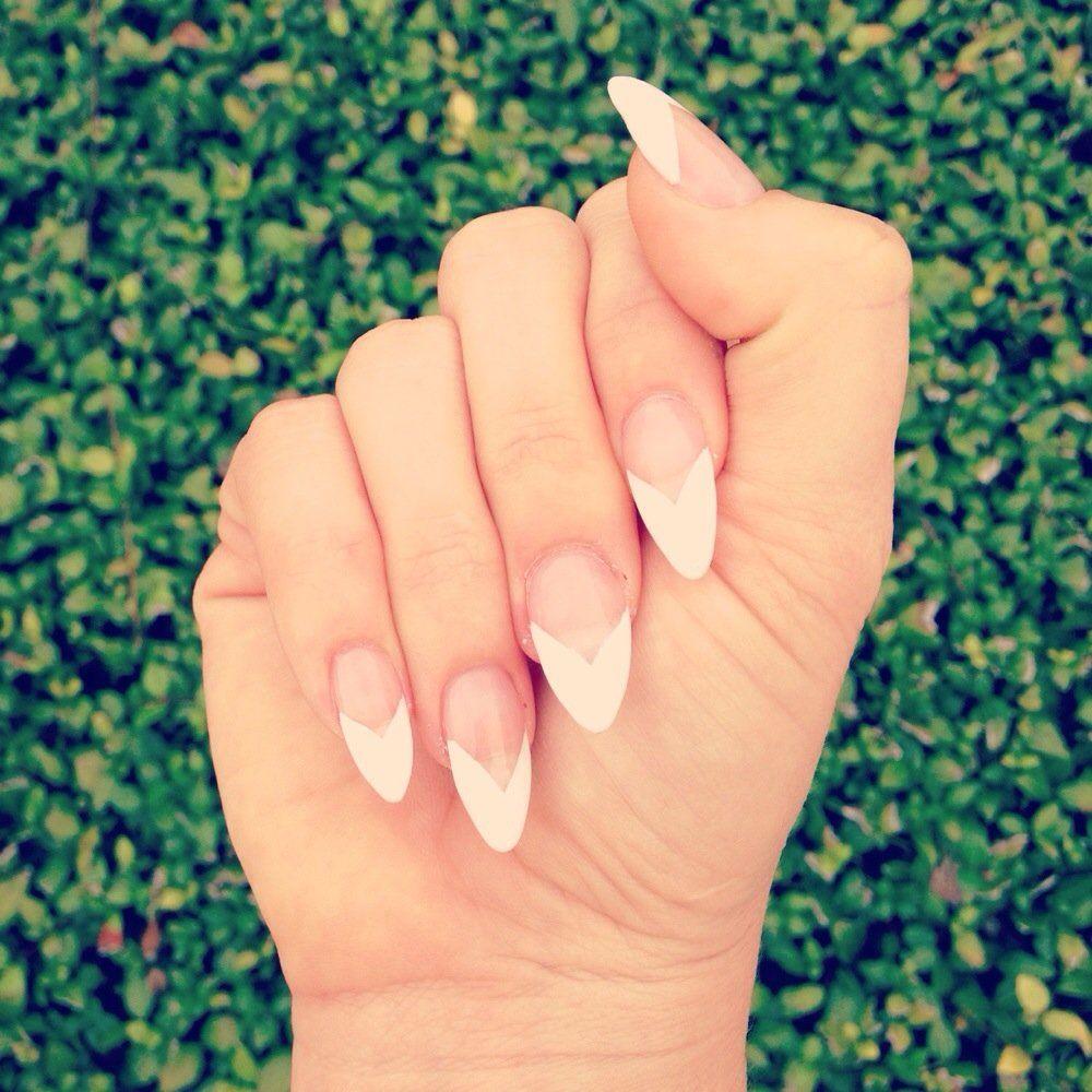 Fantastic Nails Brandon, FL, United States. French V Tip