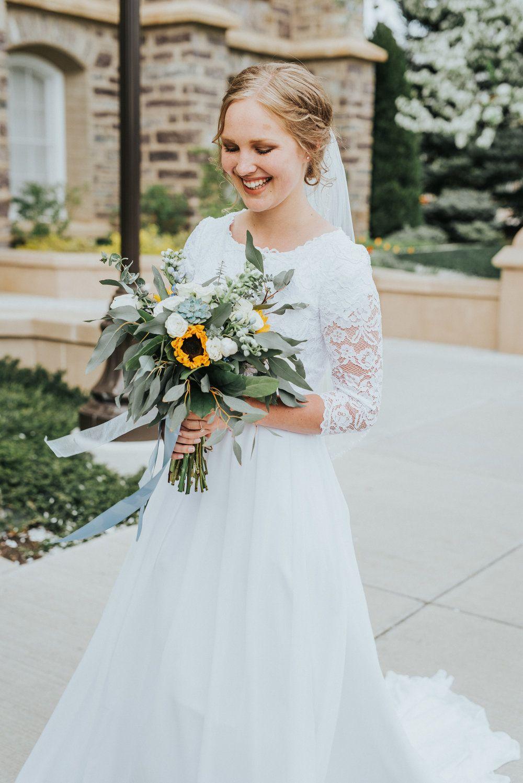 Dress logan utah lds temple wedding dress inspiration