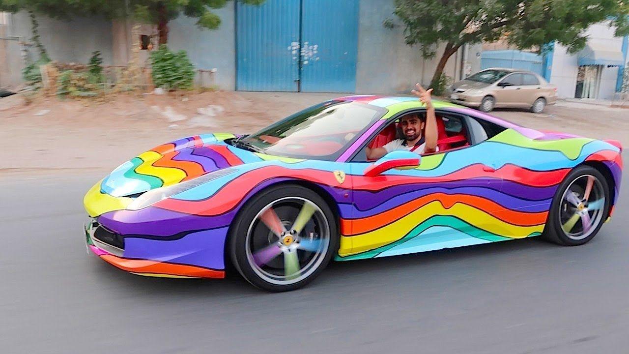 6ix9ine new car mo vlogs car new ferrari