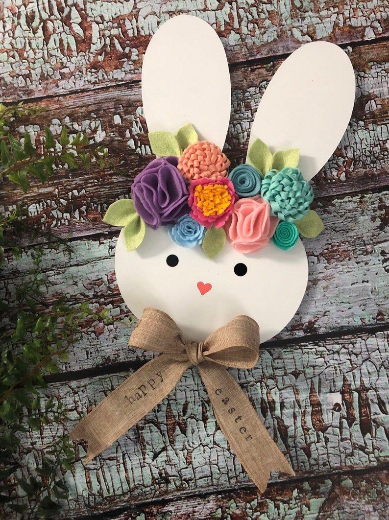 Conejo Christmas Party Dec 1 2020 Bunny ears bunny face easter bunny easter bunny decor | Etsy in