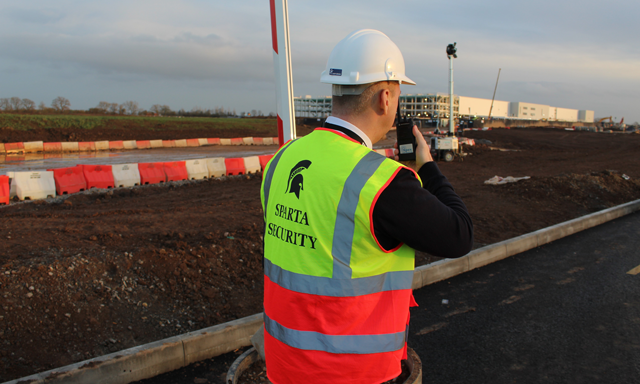 Construction Site Security Services In Teesside Security Service Construction Site Construction