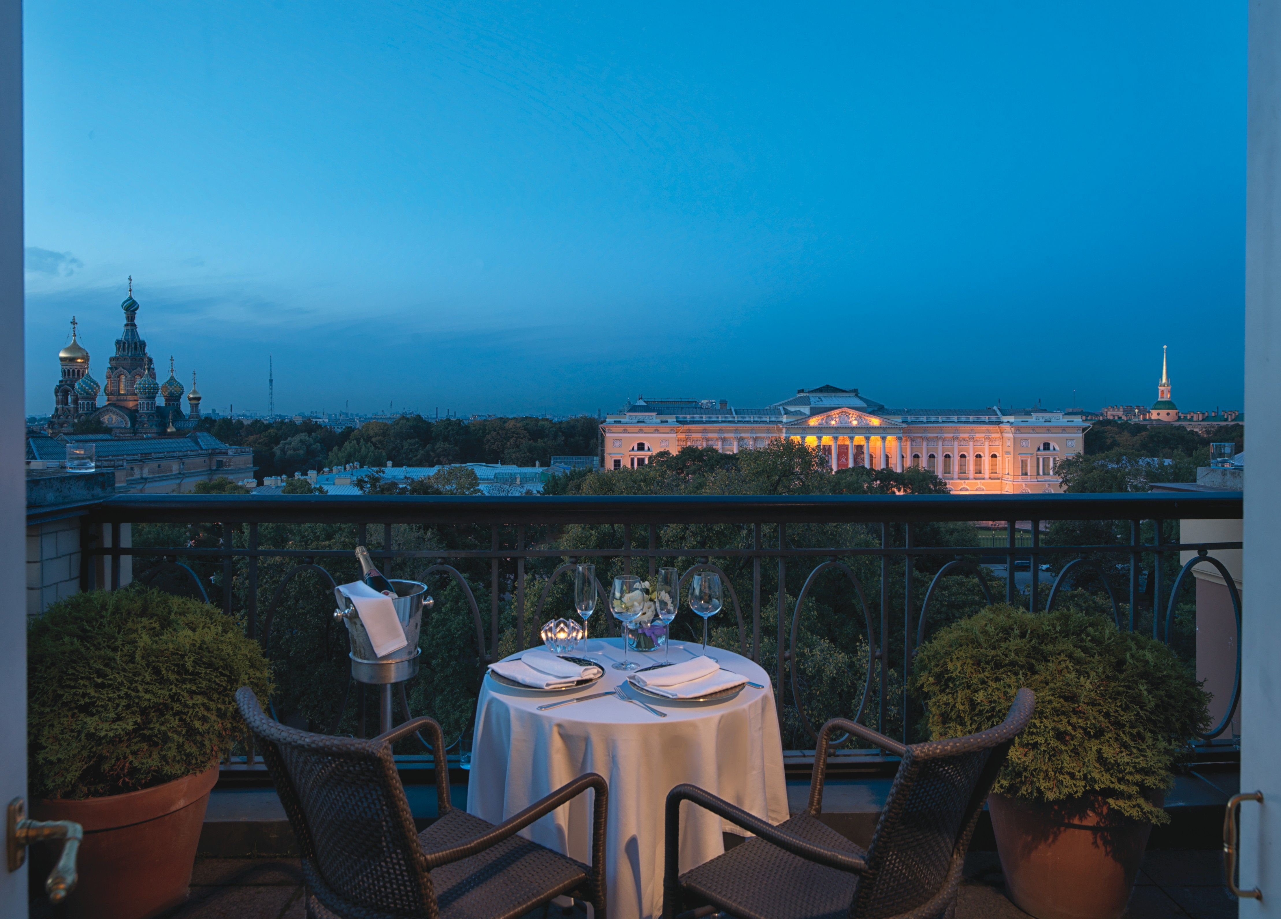 Enjoy a romantic dinner for two on your terrace at Belmond Grand ...