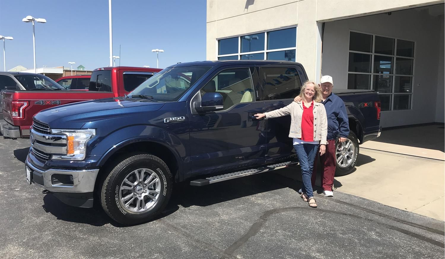 Max S New 2018 Ford F 150 Congratulations And Best Wishes From Landmark Paul Walsh