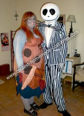 Coolest Homemade Jack and Sally Nightmare Before Christmas Couple ...