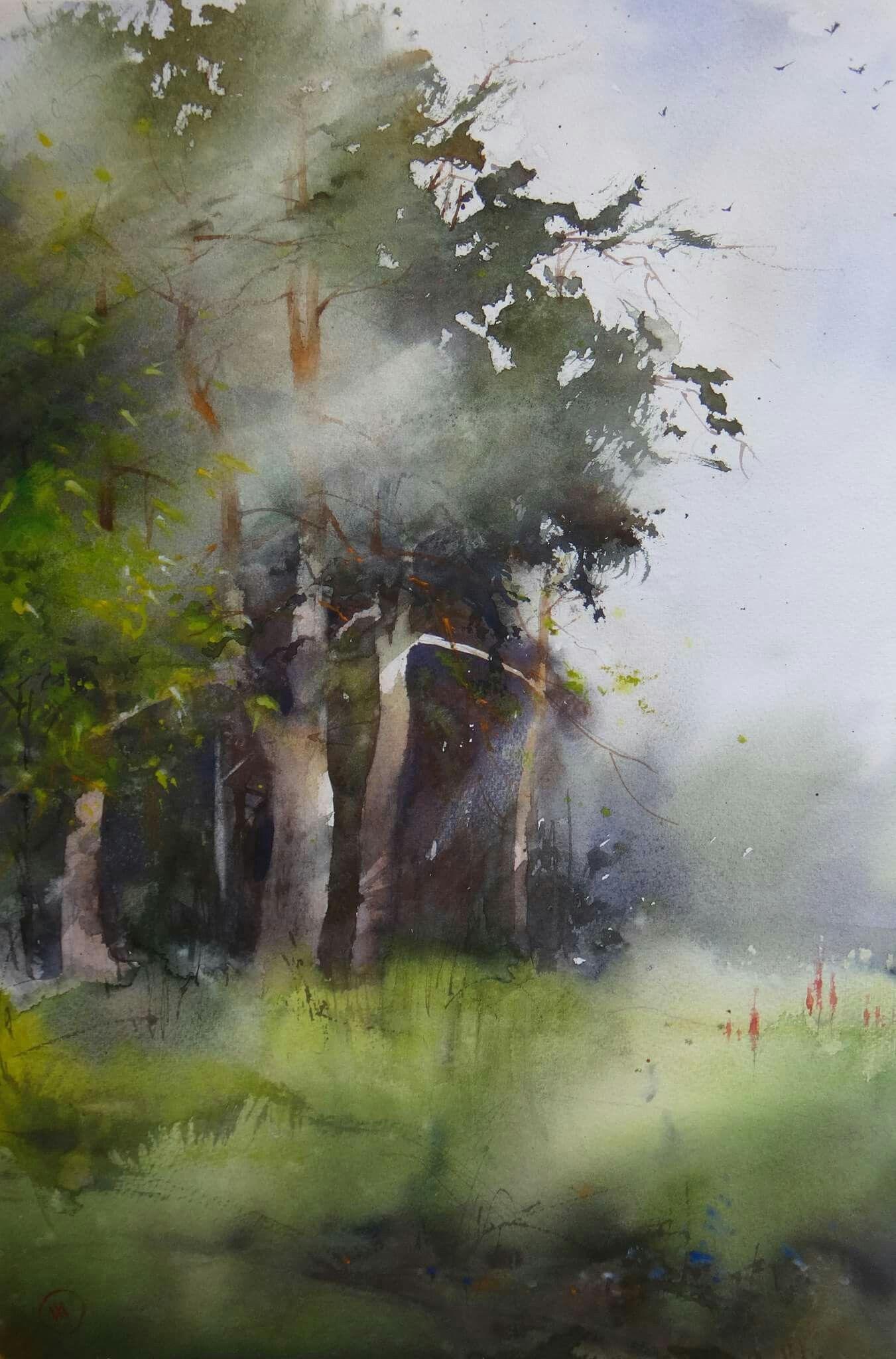 Ilya Ibryaev Aug 2016 Plein Air Watercolor Master Watercolor