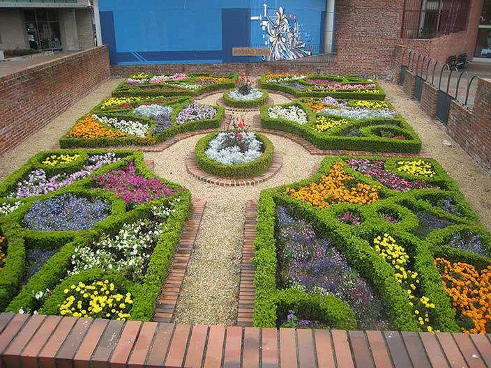 The Best Of Knot Garden Design Ideas Regarding Best Garden Home