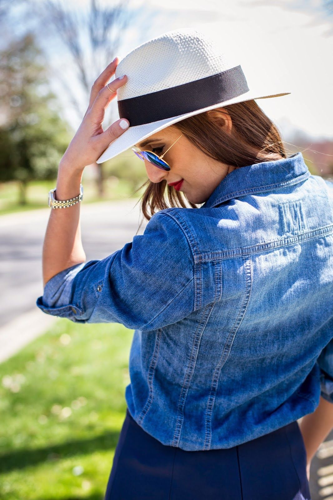 A Southern Drawl: Bucco Wedges and Chambray #jcrew