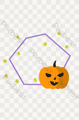 Halloween Scary Pumpkin Border Png Images Psd Free Download Pikbest Scary Pumpkin Scary Halloween Halloween Funny