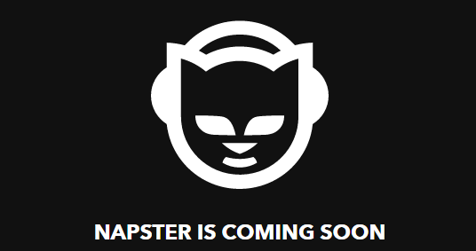 Napster Returns Well It S A Cat Logo On Top Of Rhapsody Wearing A Napster Trench Coat Napster Music Streaming Logos