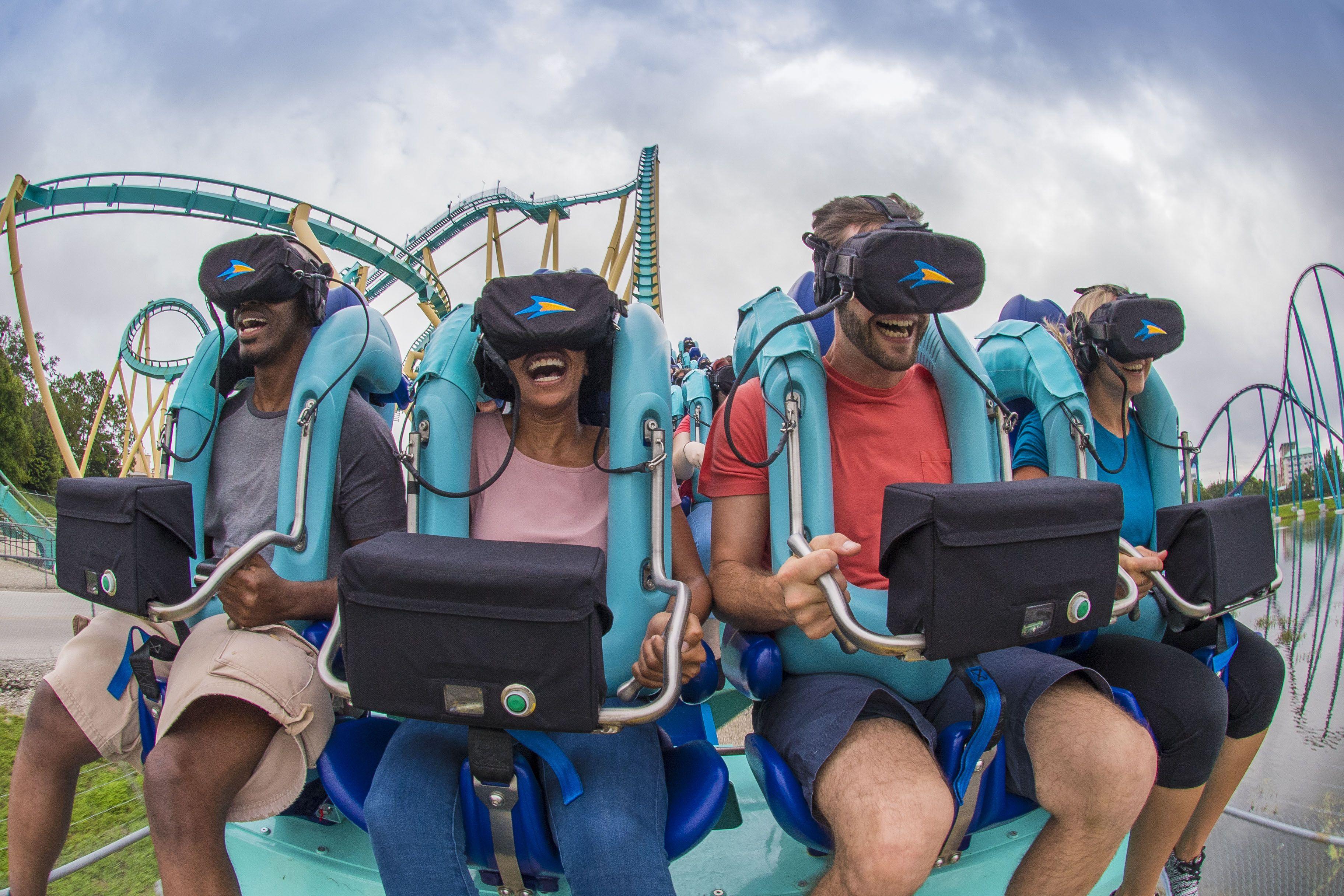 Kraken virtual reality at SeaWorld Orlando
