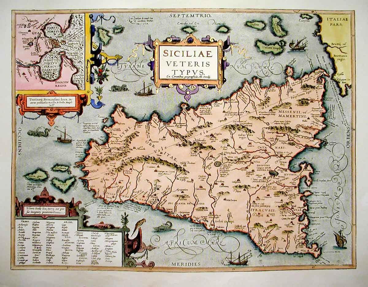 Cartina Sicilia Antica.Risultati Immagini Per Carta Geografica Sicilia Antica Mappa Antica Mappe Antiche Mappe D Epoca