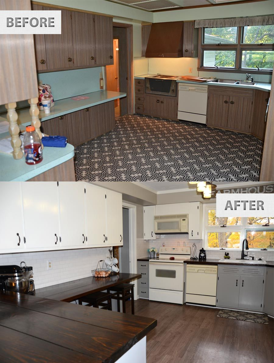 Remodeling Kitchen On A Budget Horizontal Cabinets Plain Decoration Inexpensive Remodel Mybktouch Com