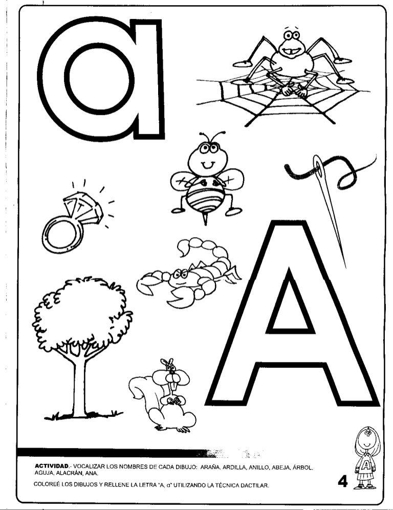 fichas de vocales para imprimir - Buscar con Google   Las letras ...