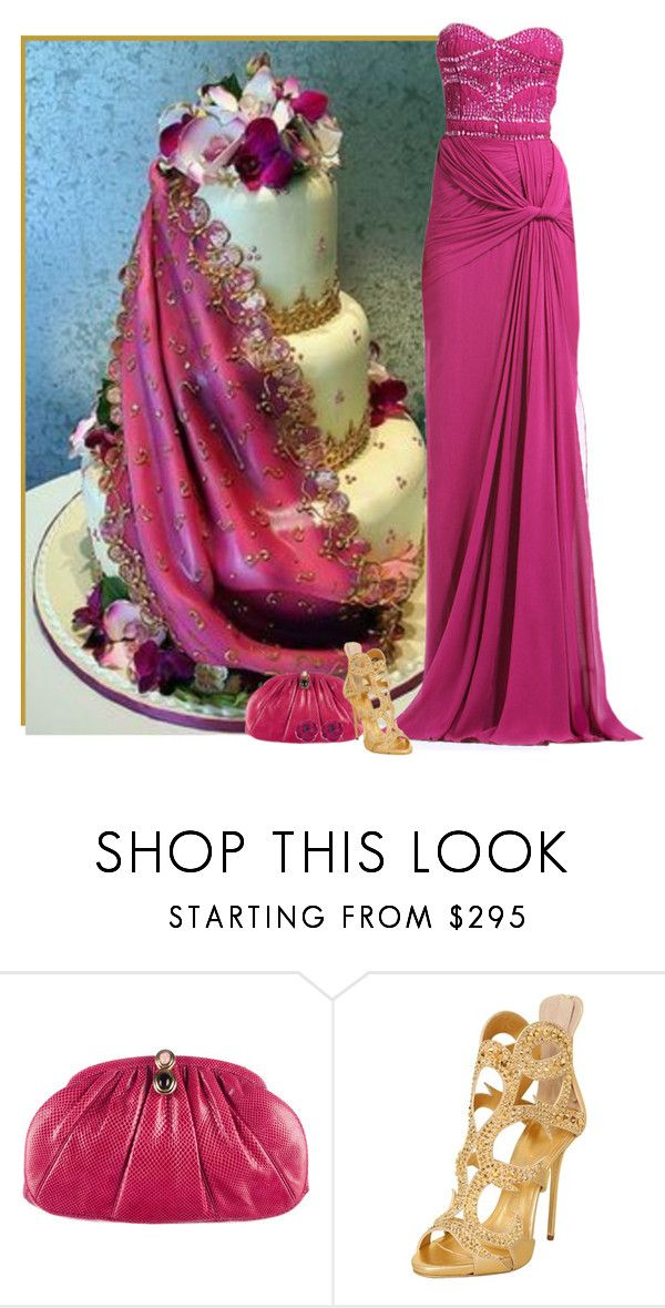 """""""roxy"""" by divacrafts ❤ liked on Polyvore featuring Zuhair Murad, Judith Leiber, Giuseppe Zanotti, Gucci and Original"""