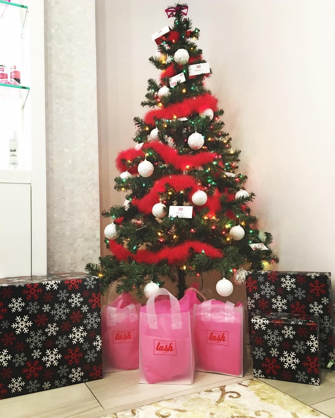 Santa came early!! Thank you so much  for our amazing gifts  #amazinglashtempe #ALSTempe #Thankful #amazinglashstudiotempe