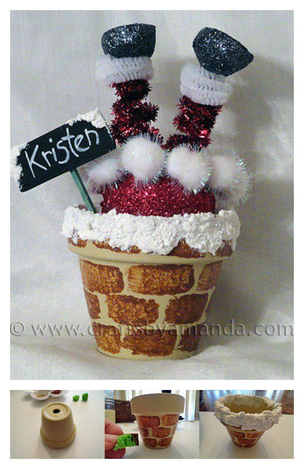 10+ Creative Clay Pot Christmas Craft Ideas Christmas
