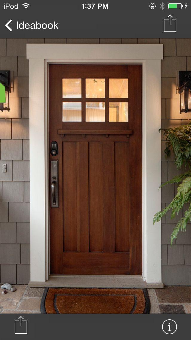 The Door Craftsman Front Doors House Exterior Front Door Design