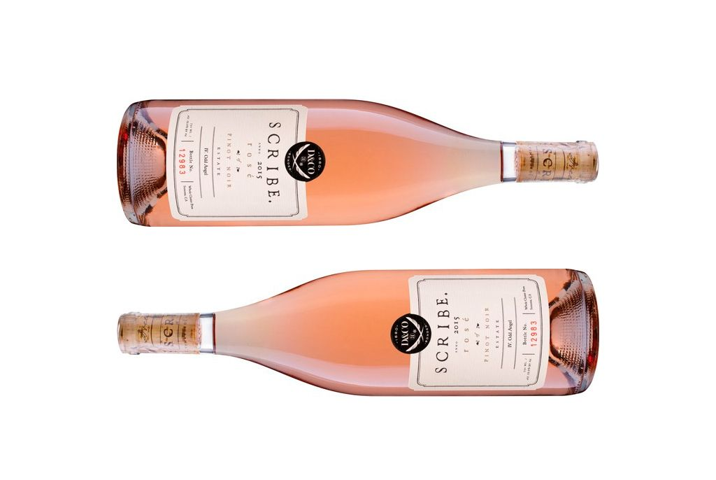 Scribe Winery - Rose - Open Sea Design Co.