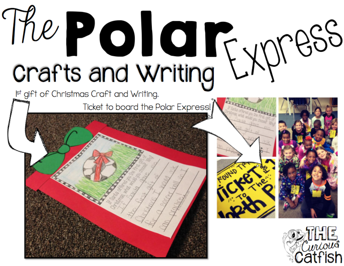 Polar Express crafts and writing! http//www