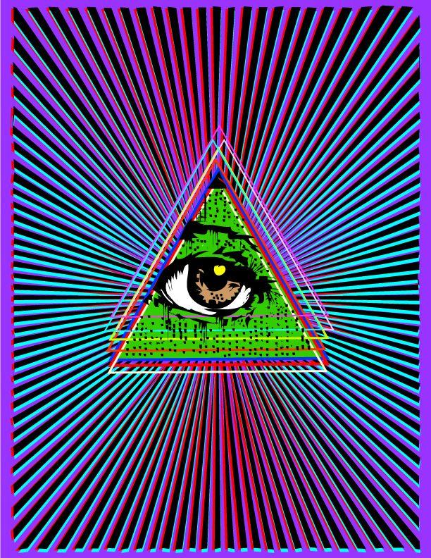 psychedelic art | Psychedelic art, Trippy art, Psychedelic
