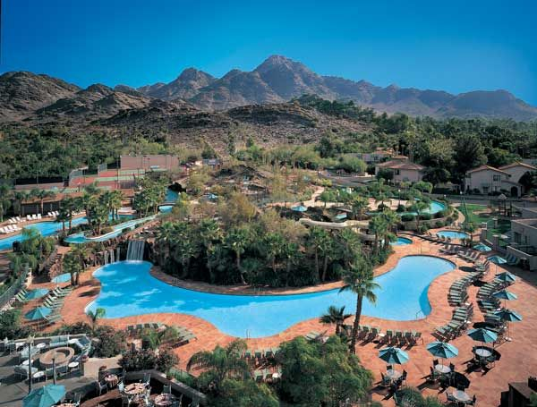 Escape The Heat At These Phoenix Area Resorts With Water Parks Pointe Hilton Squaw Peak